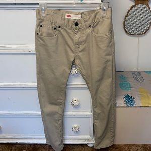 Levi's 511 Slim Khaki Pants